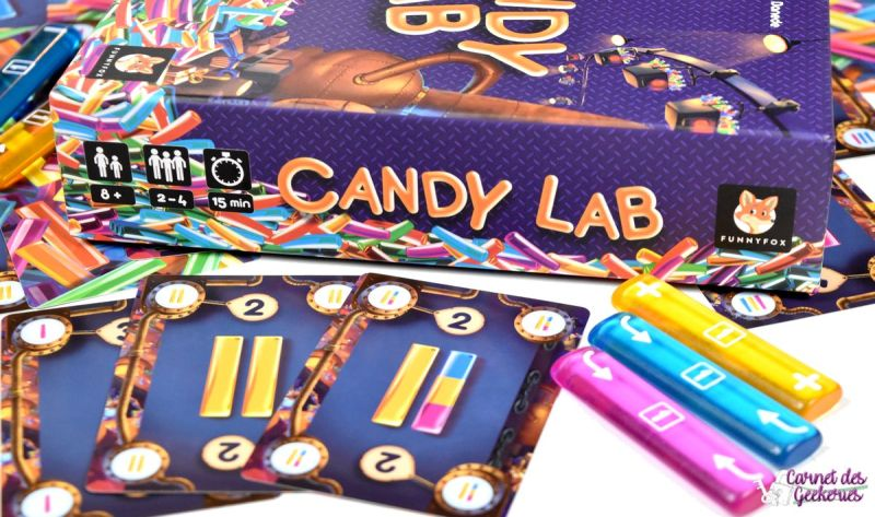 Candy Lab - FunnyFox
