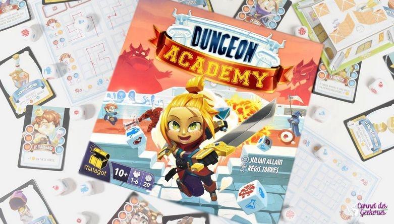 Dungeon Academy – Test et Avis – Matagot