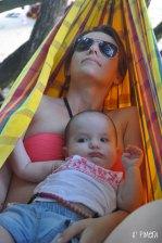 Notre petite dernière à la playa ...