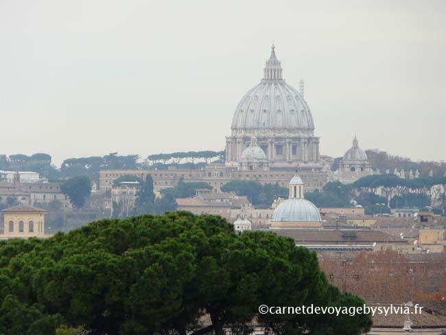 organiser son week-end à Rome (vue depuis le Forum)