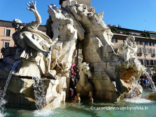 piazza Navona fontaine