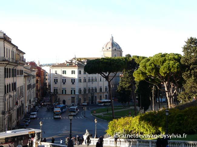 vue depuis la piazza Del Campidoglio