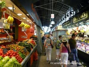 Visiter le marché sant Josep ou Mercat de la Boqueria