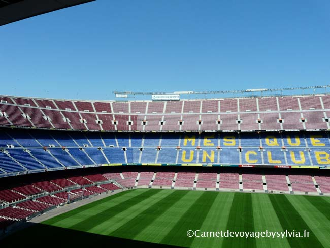 photo du stade de barcelone