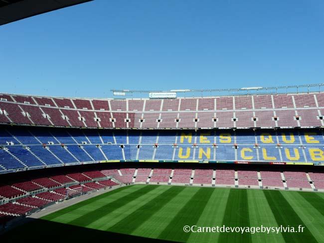photo du stade de barcelone