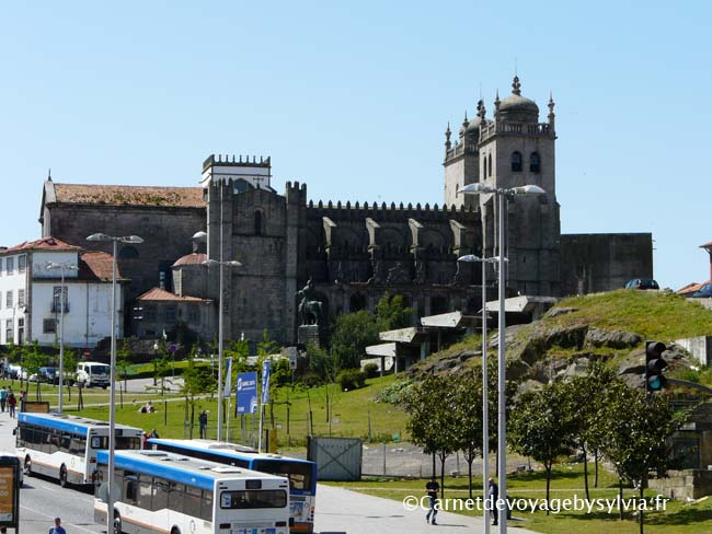 autour de la gare de Porto