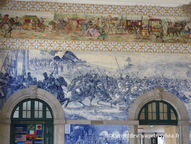 Visite de l'Estação São Bento - Porto - Gare