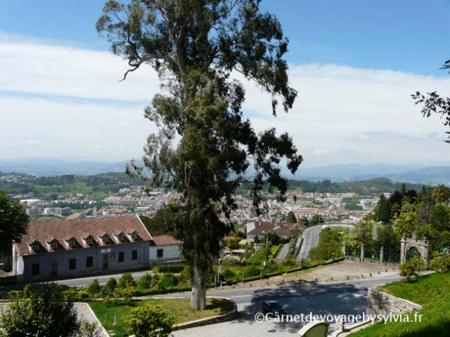 Vue sur Braga- Portugal