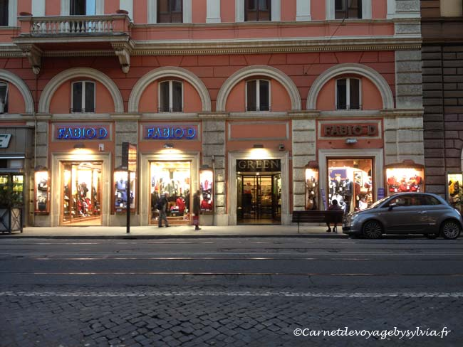 Boutiques Rome
