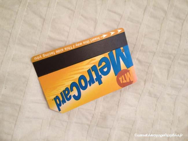 ticket metrocard