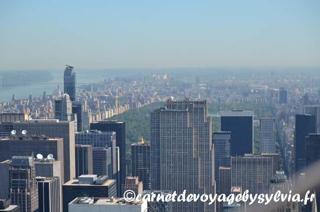 visiter l'Empire State Building- vue sur NYC