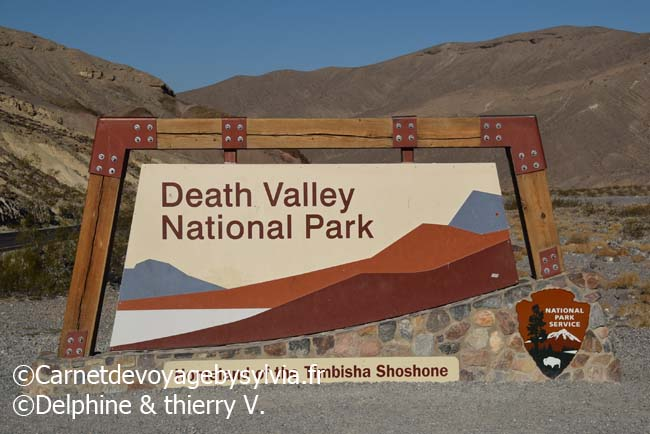 Valley de la mort - death Valley