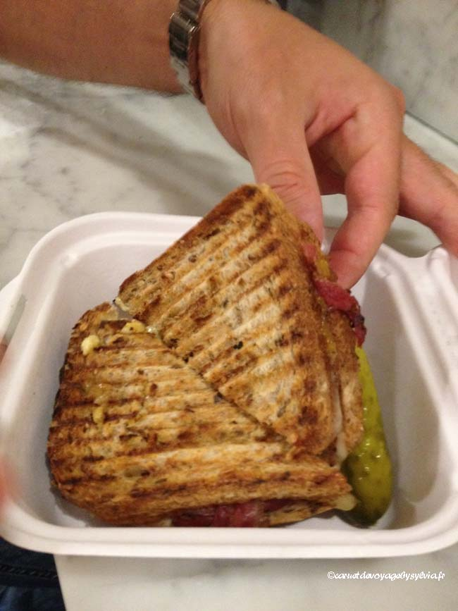 sandwich Pastrami dicksons – Chealsea Market