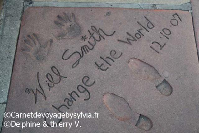 Hollywood Boulevard- will smith