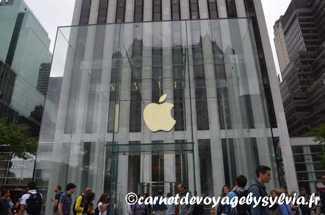 apple store New York City