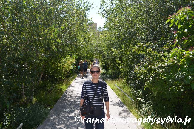 Se promener sur la High Line New York