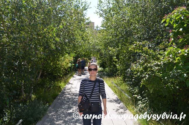 Se promener sur la High Line New York