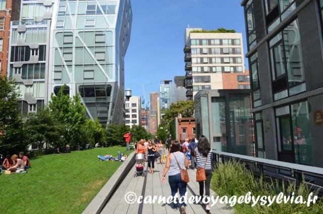 se promener sur la High Line