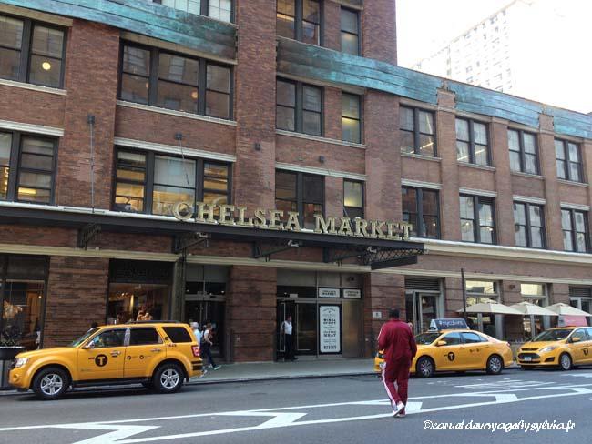 Visiter le Chelsea Market (New York) : mon avis