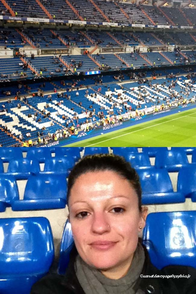 Bernabeu Stadium- match réal Madrid