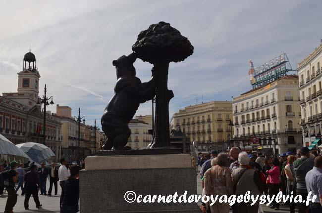 Visiter la Puerta del sol à Madrid