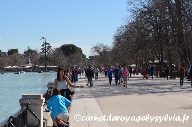parc del Retiro Madrid
