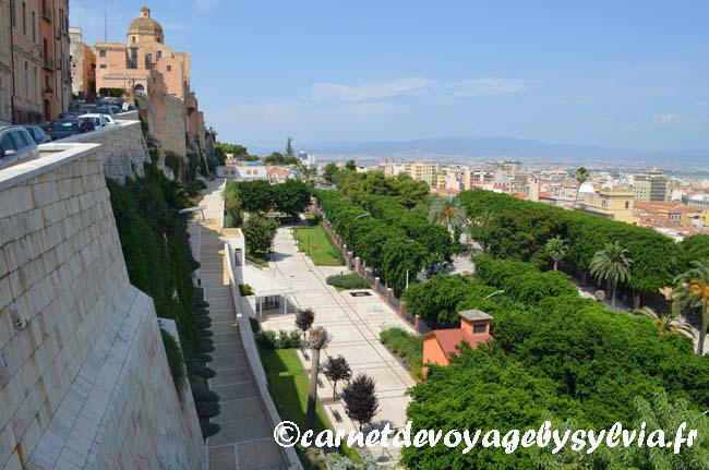Cagliari - SARDAIGNE-ville dans la ville- fortification