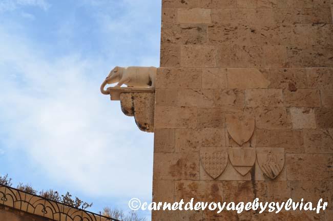 Elephant sur la Torre dell Elefant