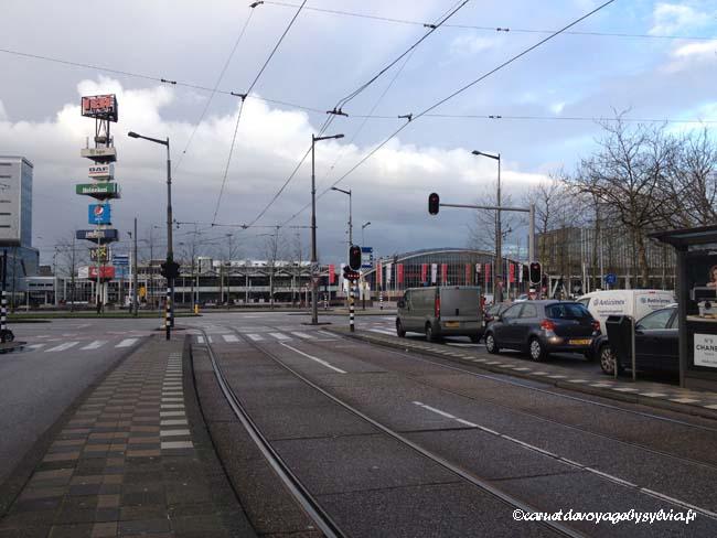 lignes de tramways-Amsterdam