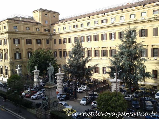 Voyage à Rome - administration