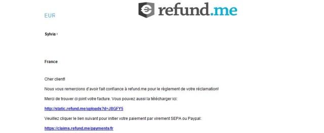 mail refund me
