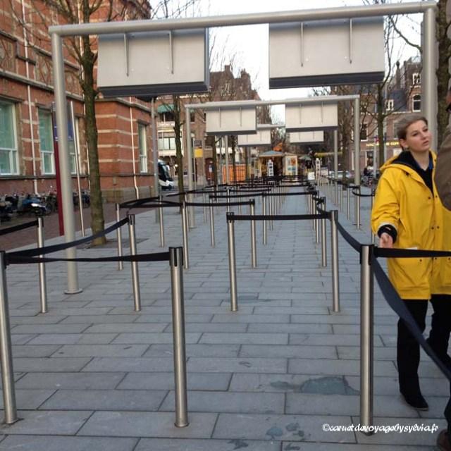 pas de file d'attente à 8h30-9H- Musée Van Gogh