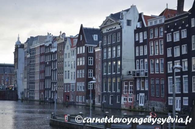 Amsterdam façade de maison
