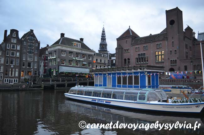 Amsterdam balade en bateau