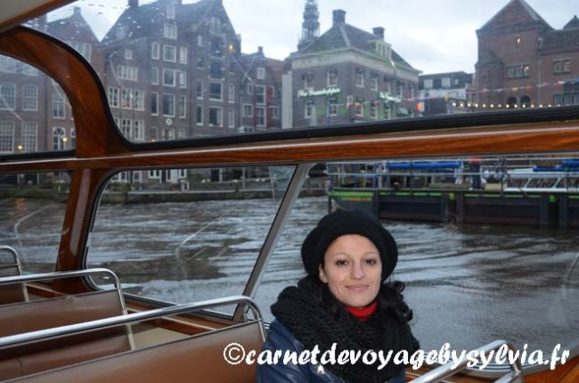 Amsterdam : balade en bateau