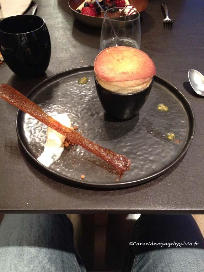 le dessert Le Bréard - HONFLEUR -menu gourmet