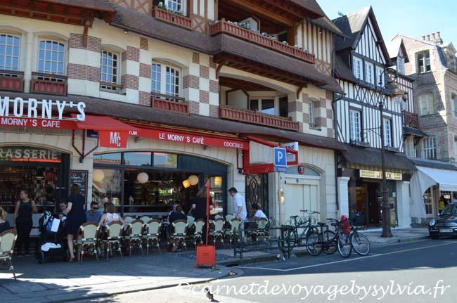 centre ville de Deauville