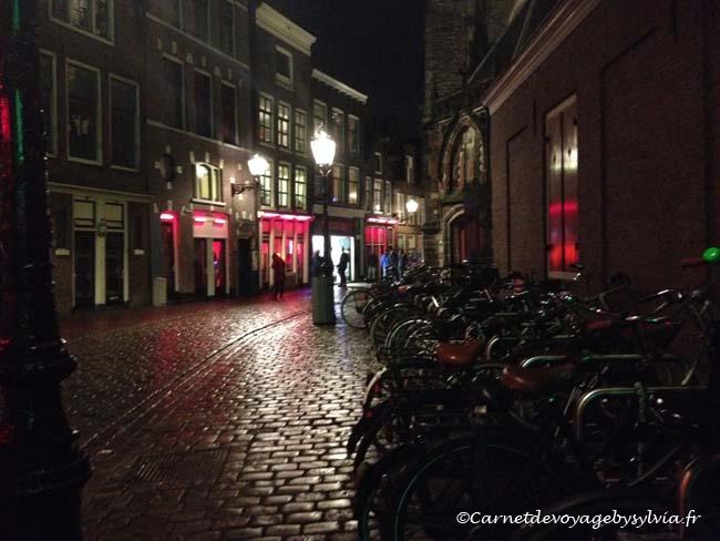 voyage à Amsterdam - quartier rouge