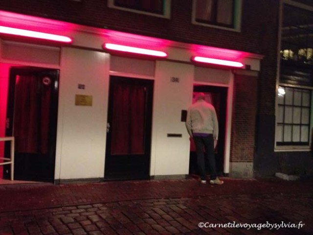 voyage à Amsterdam - red light district