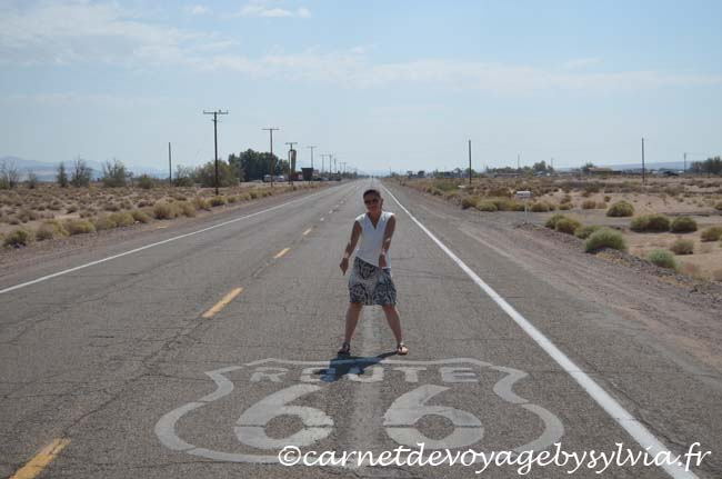 mother road -route 66 -Ouest USA