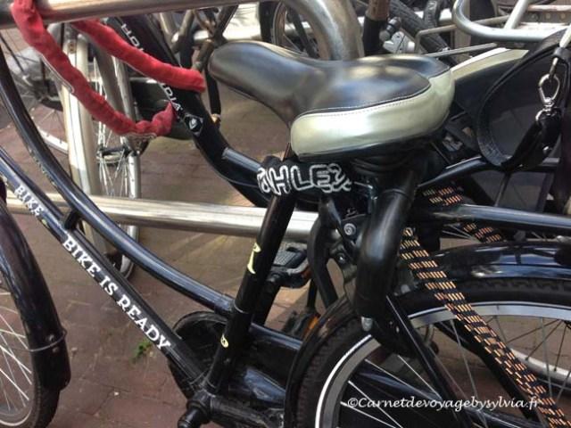 Faire du vélo à Amsterdam