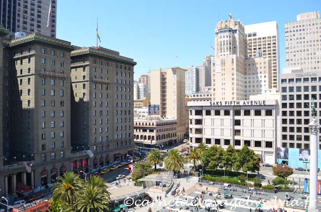 Vue sur Union Square San Francisco