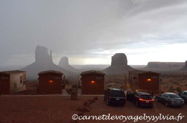 cabine de monument valley