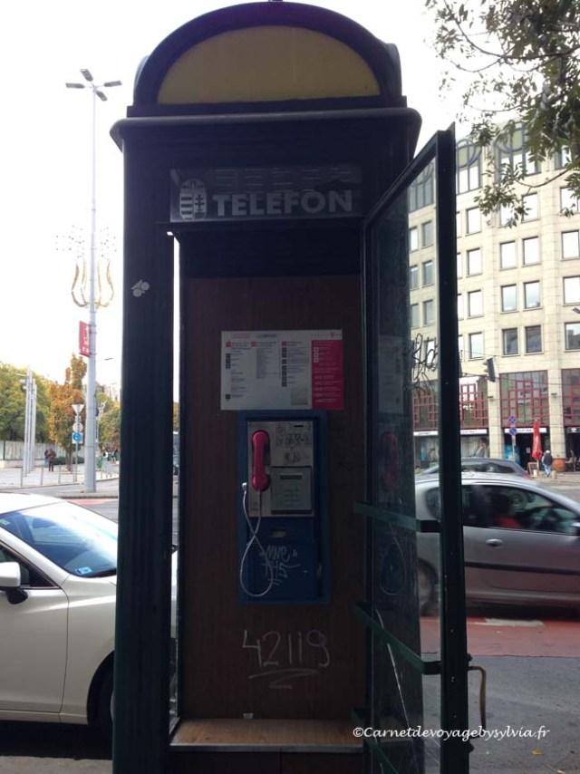 cabine téléphonique budapest