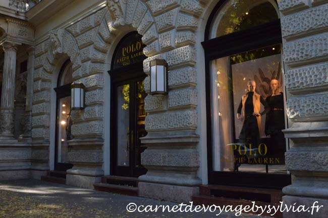 shopping - lèche vitrine Budapest
