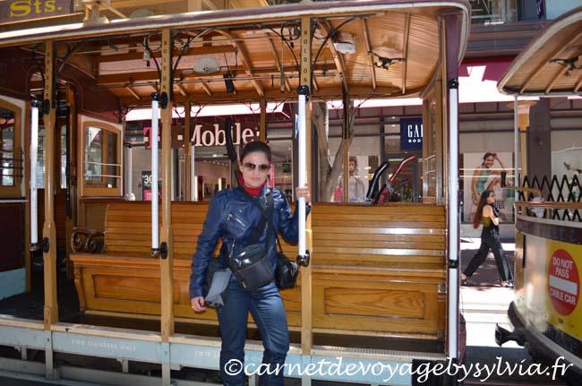 Market street - Cable car - San Francisco