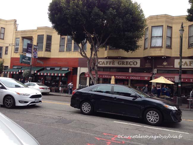 North Beach le quartier italien de San Francisco