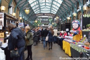 Visiter Covent Garden –  shopping à Londres