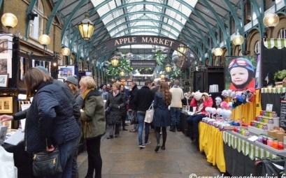 visiter Covent Garden - apple Market