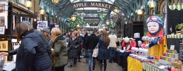 visiter Covent Garden - apple Market